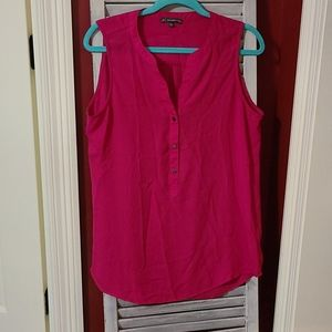 Adrianna Papell Pink Blouse